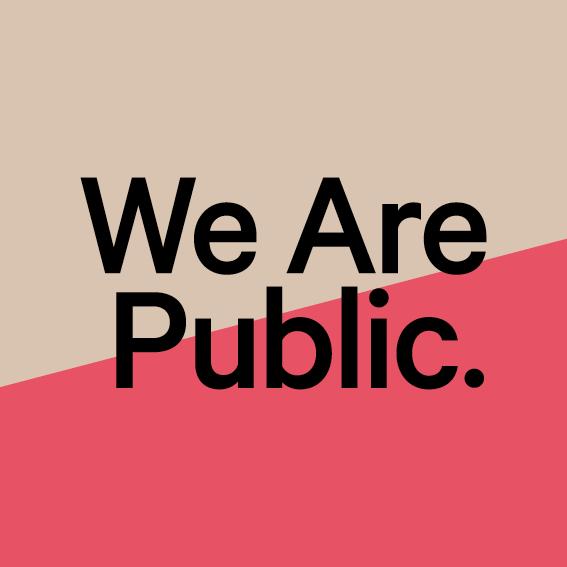 Programma We Are Public