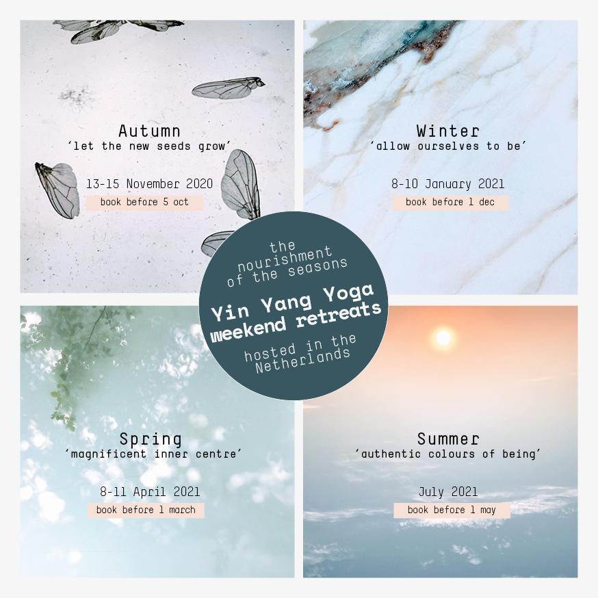 yoga retreat seizoenen